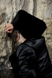 Jerusalem, the Western Wall, Jew, ultra-orthodox Stock Images