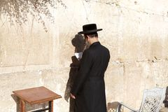 Jerusalem Western Wall Royalty Free Stock Photography