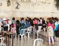 Jerusalem Western Wall Stock Photo