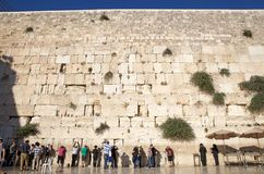 Jerusalem Western Wall Royalty Free Stock Image