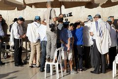 Jerusalem Western Wall Royalty Free Stock Images