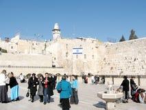 Jerusalem Western Wall 2008 Stock Image