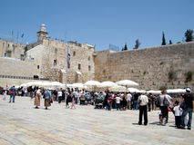 Jerusalem Western Wall 2010 Royalty Free Stock Photography