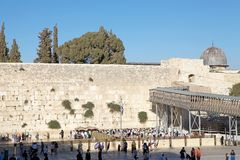 Jerusalem Western Wall Royalty Free Stock Photo