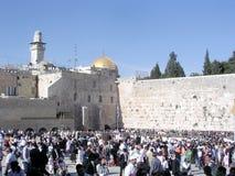 Jerusalem Western Wall 2005 Royalty Free Stock Image