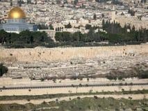 jerusalem widok obrazy royalty free