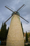 Jerusalem windmill Royalty Free Stock Photo