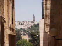 Jerusalem& x27 ; architecture antique de s Photo libre de droits