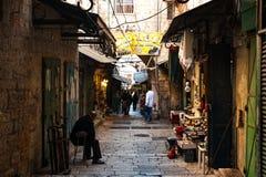 Jerusalems Oude Stad Stock Afbeeldingen