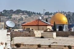 Jerusalemwege und -gassen Stockbild