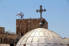 Jerusalen churchs Zdjęcie Royalty Free