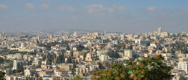 Jerusalén moderna Foto de archivo