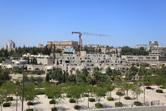 Jerusalén y rey modernos David Hotel Imagen de archivo libre de regalías