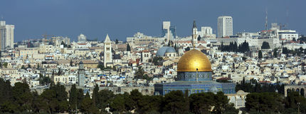Jeruzalem Royalty-vrije Stock Afbeeldingen