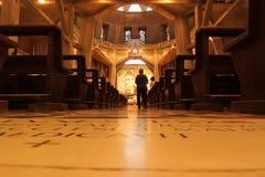 Jeruzalem - de Kerk van de Aankondiging stock foto