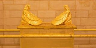 Jeruzalem - de symbolische Bak van de Overeenkomsthulp in Evangelische Lutheran Kerk van Beklimming Royalty-vrije Stock Fotografie