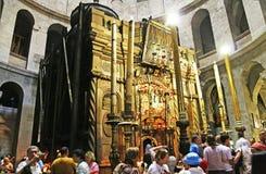 jeruzalem De tempel van Heilig begraaft September 2008 Royalty-vrije Stock Foto's