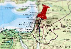 Jeruzalem in Israël stock foto's