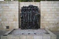 Jeruzalem, Israël 24 Oktober 2018: Yad Vashem, het officiële binnen gevestigde gedenkteken van Israël aan de Joodse slachtoffers  royalty-vrije stock foto's