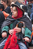 Jeruzalem, Israël - Purim Carnaval Royalty-vrije Stock Afbeelding