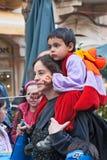 Jeruzalem, Israël - Purim Carnaval Royalty-vrije Stock Foto