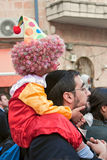 Jeruzalem, Israël - Purim Carnaval Stock Afbeeldingen