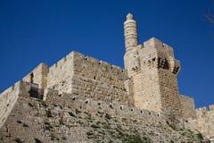 Jeruzalem, Toren van David Stock Foto's