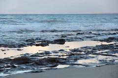 Jervis海湾海滩澳大利亚 免版税库存照片