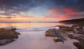 Jervis Bay au crépuscule Image libre de droits