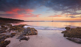 Jervis Bay at dusk Stock Images