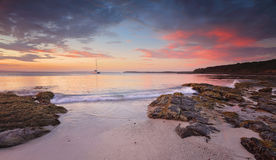 Jervis Bay at dusk Royalty Free Stock Image