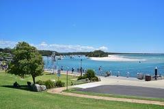 Jervis Bay Marine Park på Huskisson, New South Wales, Australien Royaltyfri Fotografi