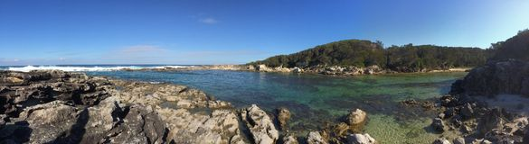 Jervis bay pano Royalty Free Stock Image