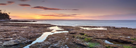 Jervis Bay Panorama Royalty Free Stock Photo