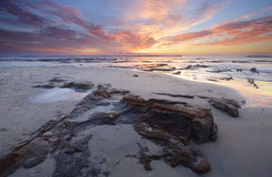 Jervis Bay Sunrise Stock Afbeeldingen