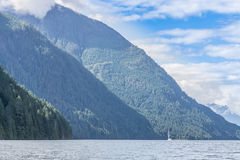 Jervis inlet Stock Photo