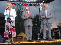 Jerzy Buzek - président du Parlement européen Images libres de droits
