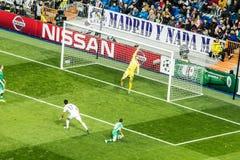 Jesè - Real Madrid contro i ludogorets 4-0 Fotografia Stock Libera da Diritti