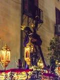 Jesús del Gran Poder, στην πομπή της ιερής εβδομάδας στη Μαδρίτη, Στοκ Εικόνες
