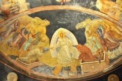 Jesús, Adán y Eva imagen de archivo