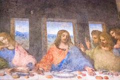 Jesús con John Thomas James Imagen de archivo
