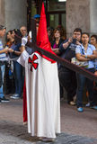 Jesús el cautivo, in the procession of Holy Week in Madrid, Apr Royalty Free Stock Photos