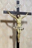 Jesús en cruz Imágenes de archivo libres de regalías