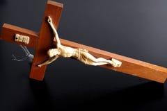 Jesús en cruz Imagenes de archivo