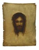 Jesús en el pañuelo de Veronicas Foto de archivo