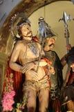 Jesús en ensayo Imágenes de archivo libres de regalías
