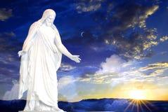 Jesús en la creación del mundo fotos de archivo