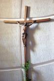Jesús en la cruz Imagen de archivo libre de regalías