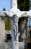 Jesús en la cruz Imagen de archivo