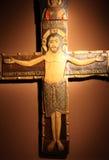 Jesús en la cruz Foto de archivo libre de regalías